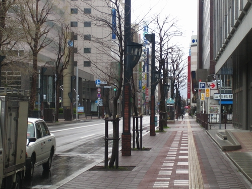 札榥市區街景