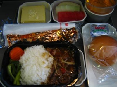 西北航空的餐點