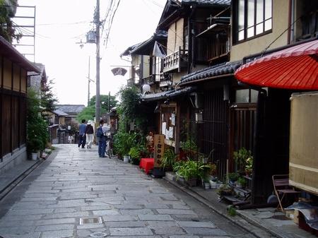 二年阪街景