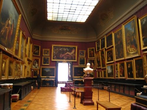 香蒂伊城堡的某一室