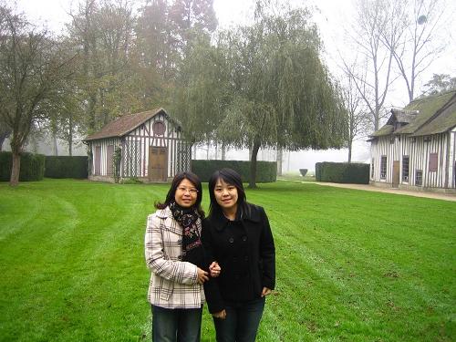 香蒂伊城堡的花園