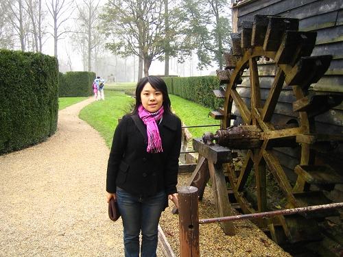 香蒂伊城堡的花園-水車