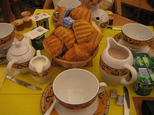 豐盛的早餐