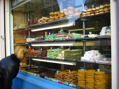 巷弄中的小甜點店