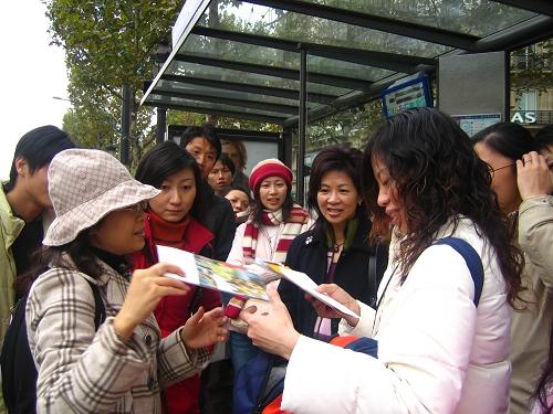 等公車去羅浮宮