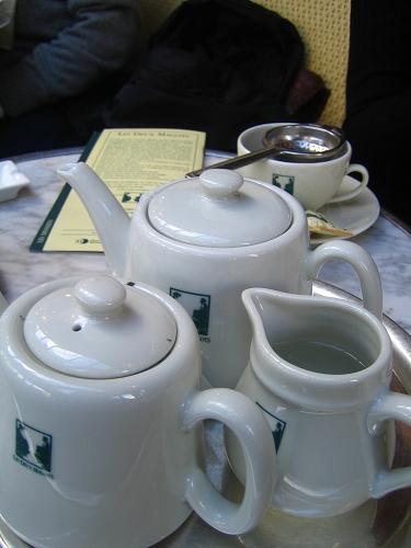 我們點的薄荷茶