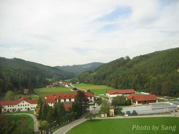 奧地利路上風景
