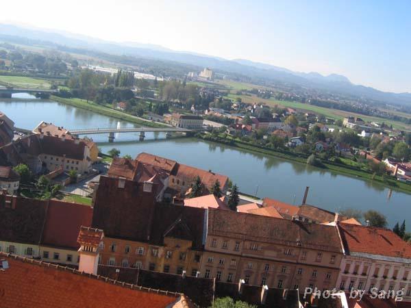 Ptuj城堡所見風景