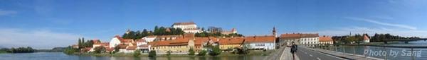 Drave河岸旁的Ptuj