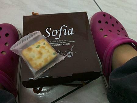 網購美食--sofia手感牛扎糖蘇打夾心餅乾