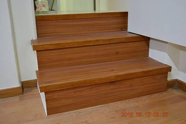 超耐磨做樓梯
