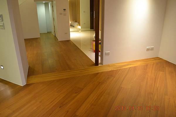 原古-緬甸柚木6.4寸6分實木地板14
