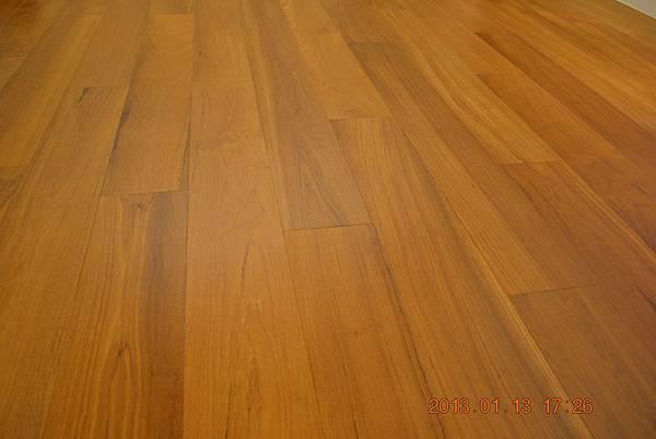 原古-緬甸柚木6.4寸6分實木地板18