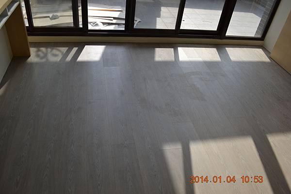 超耐磨地板同步立體星空系列-雙子01