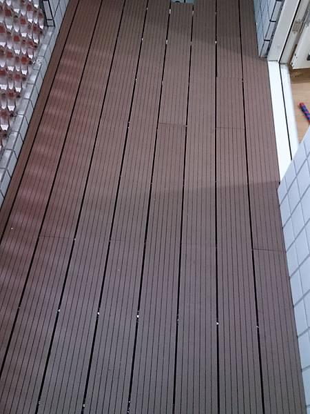 室外塑木地板0