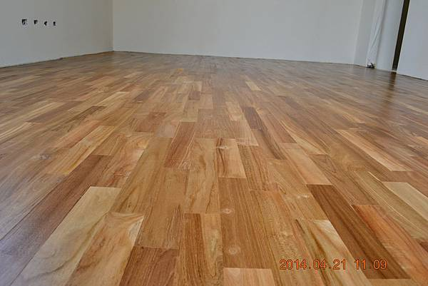 印尼柚木平口地板