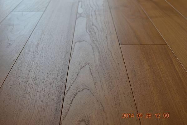 新原古-緬甸柚木實木地板4寸6分02