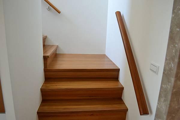 新原古-緬甸柚木 藝術拼板 樓梯踏板