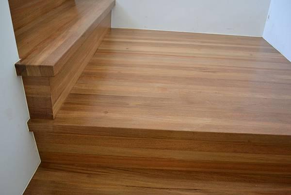 新原古-緬甸柚木 藝術拼板 樓梯踏板 (3)