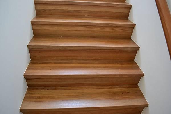 新原古-緬甸柚木 藝術拼板 樓梯踏板 (4)