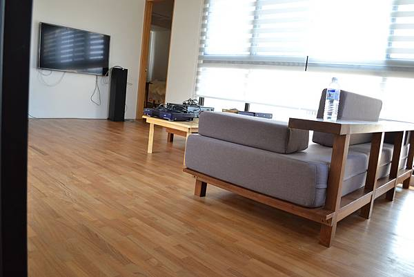 新原古-緬甸柚木平口地板
