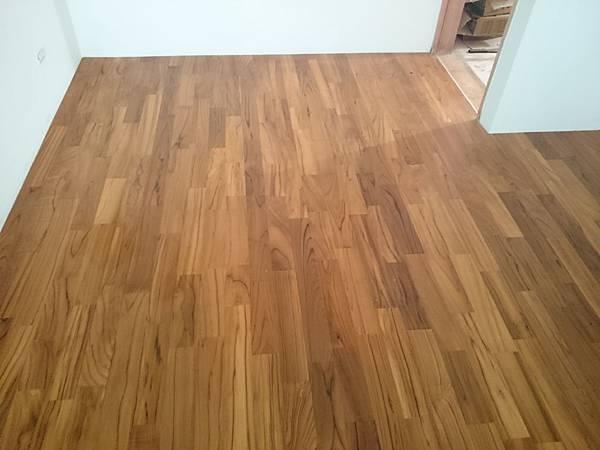 原古-柚木3寸5分6尺藝術指接實木地板