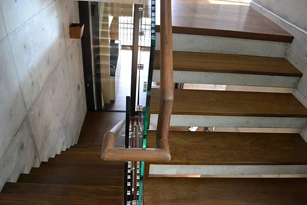 新原古-緬甸柚木實木樓梯踏板 手工染色 (2)