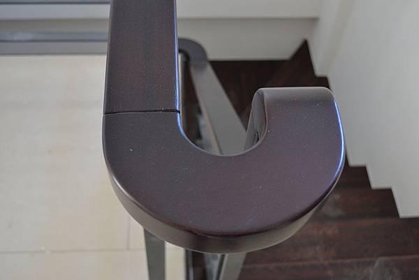 山衍地板 匾頭日式浮手 雞翅木拼接地板做樓梯踏板 (2)