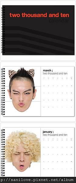 G. 2010 BIGBANG 官方行事曆 TYPE C