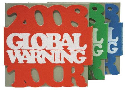 2008 Global Warning Tour With Taeyang 1st Concert DVD