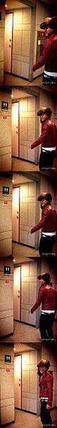 20081207 in SBS Inkigayo Backstage 太陽 02