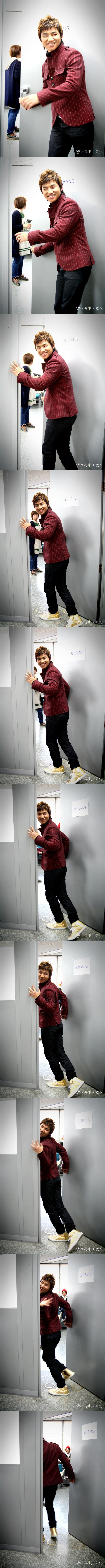 081207 in SBS Inkigayo Backstage 大成 02