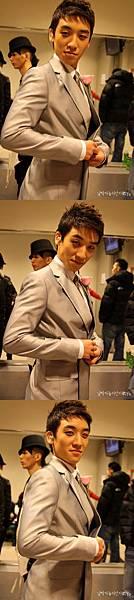 20090111 Seung Ri in SBS inkigayo 01