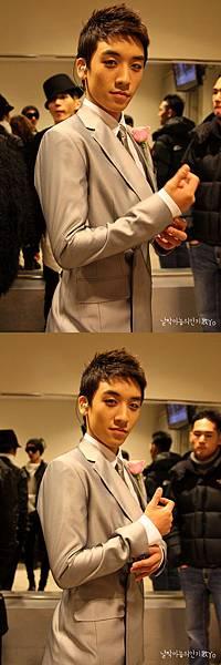 20090111 Seung Ri in SBS inkigayo 02
