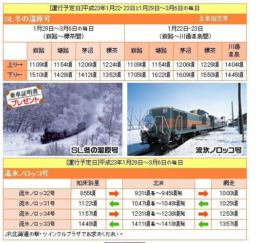 2011流冰號和SL釧路濕原號.bmp