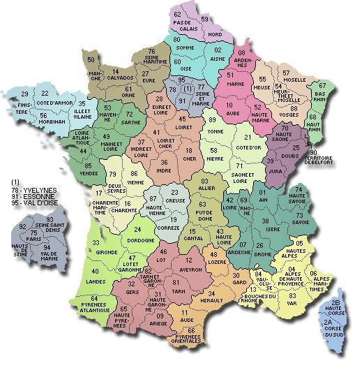carte-departement-france