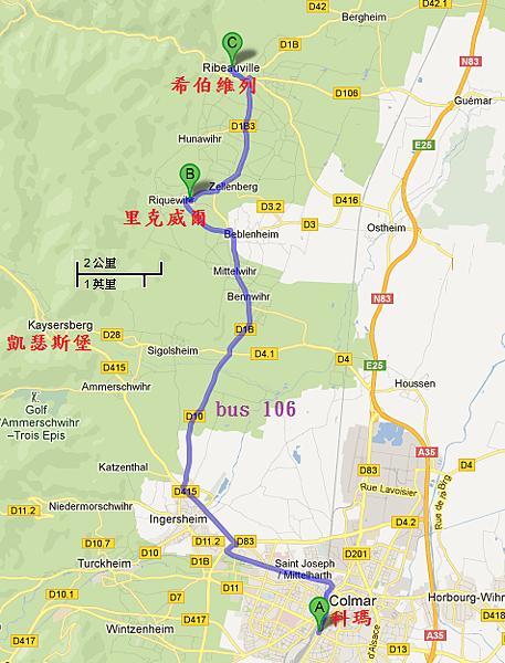 106 map