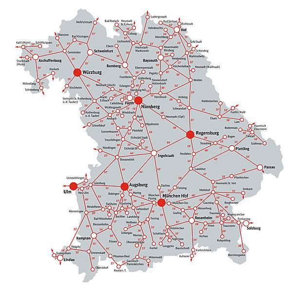 bayern map