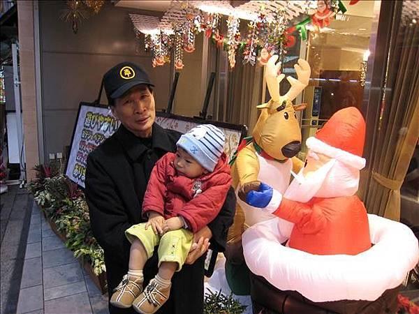 耶誕老人裝飾