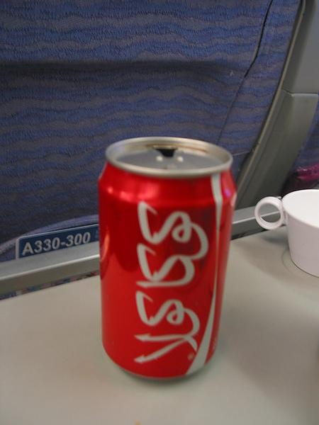 阿拉伯文的可口可樂