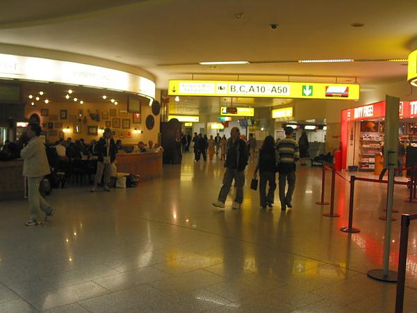 小小的維也納機場