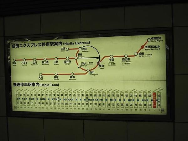 N'EX運行路線