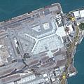 赤蠟角機場平面圖