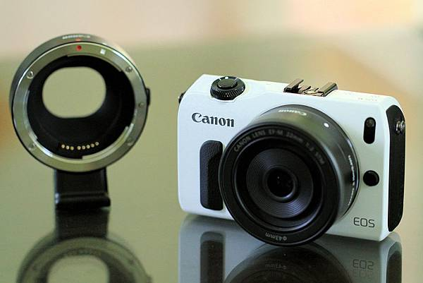 Canon EOS M, EF-M 22mm f/2 STM