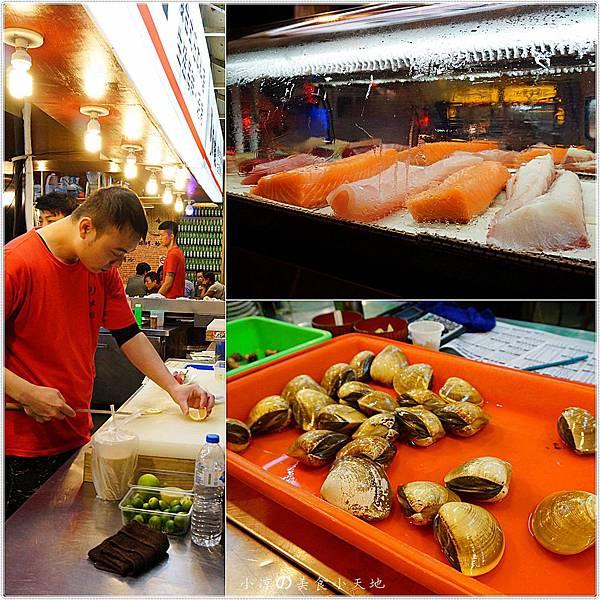 1445336985 2382839073 n - (熱血採訪)黃昏市場內驚見海底珍味活跳跳上桌。真實呈現大海的鮮/甜/美。另類居酒屋燒烤/日式料理/鍋物/酒類,美味料理任你選