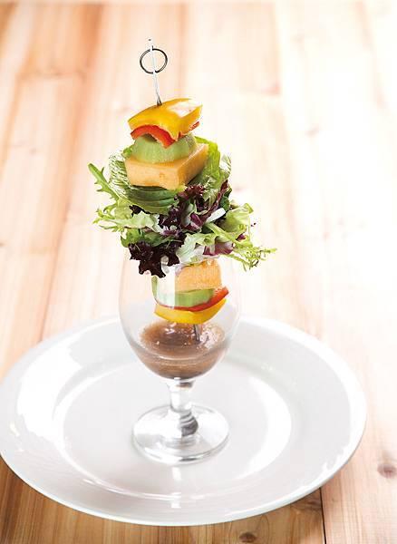 蔬果生菜沙拉