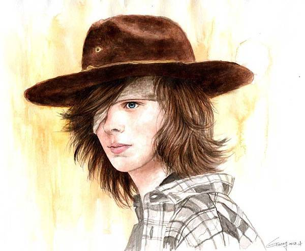 The Walking Dead-Carl Grimes-1