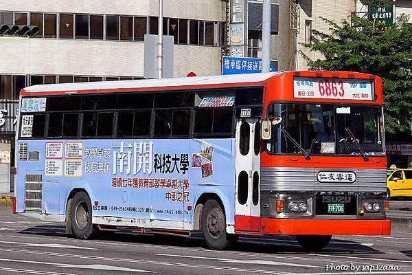 仁友客運 6863 FR-706