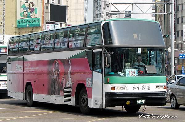 台中客運 132 905-FB
