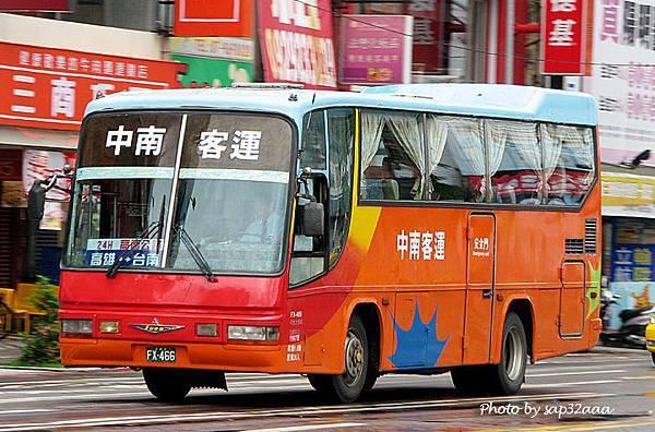 中南客運 台南=高雄 FX-466